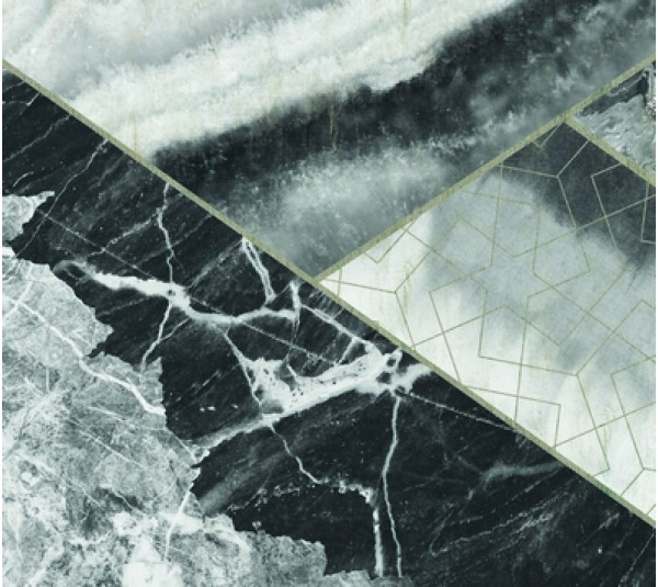 обои KT-Exclusive Vanilla Lime 014222 MARBLE