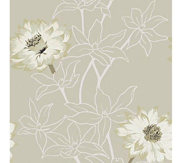 обои Casamance London fleurdelotusbeige
