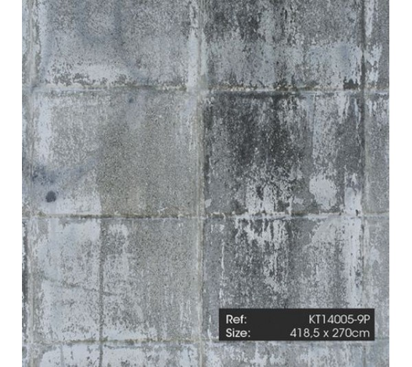обои KT-Exclusive Just Concrete and Just Wood KT14005