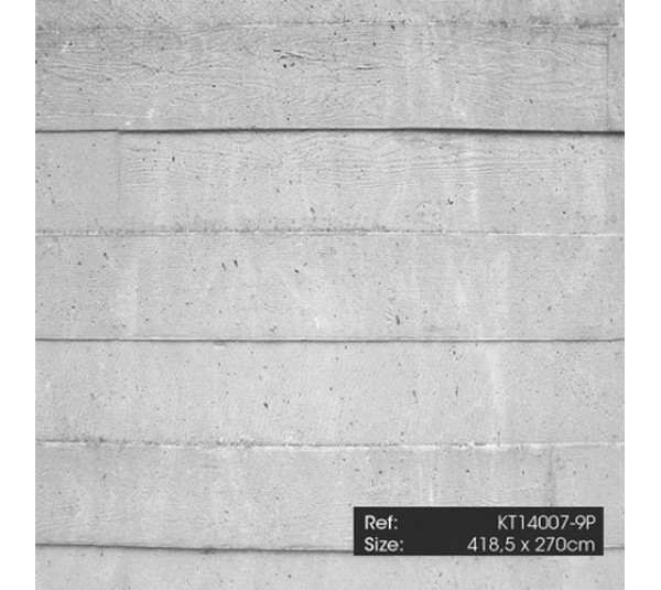 обои KT-Exclusive Just Concrete and Just Wood KT14007