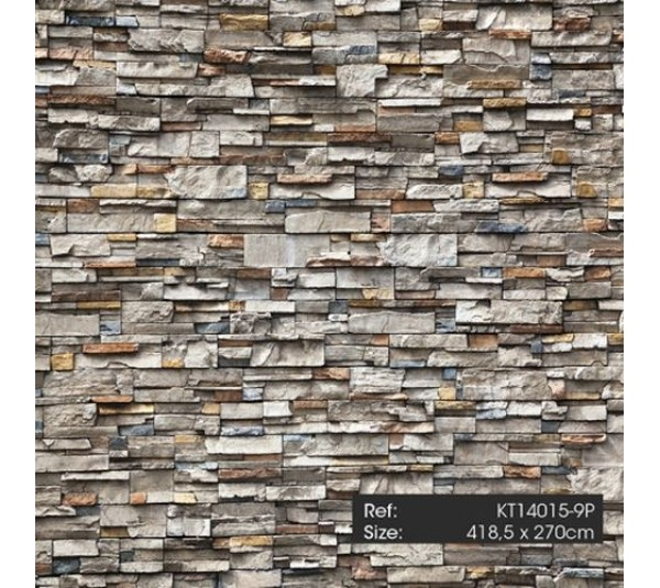 обои KT-Exclusive Just Concrete and Just Wood KT14015
