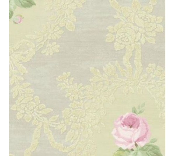 обои Wallquest Watercolor Florals  MF20206